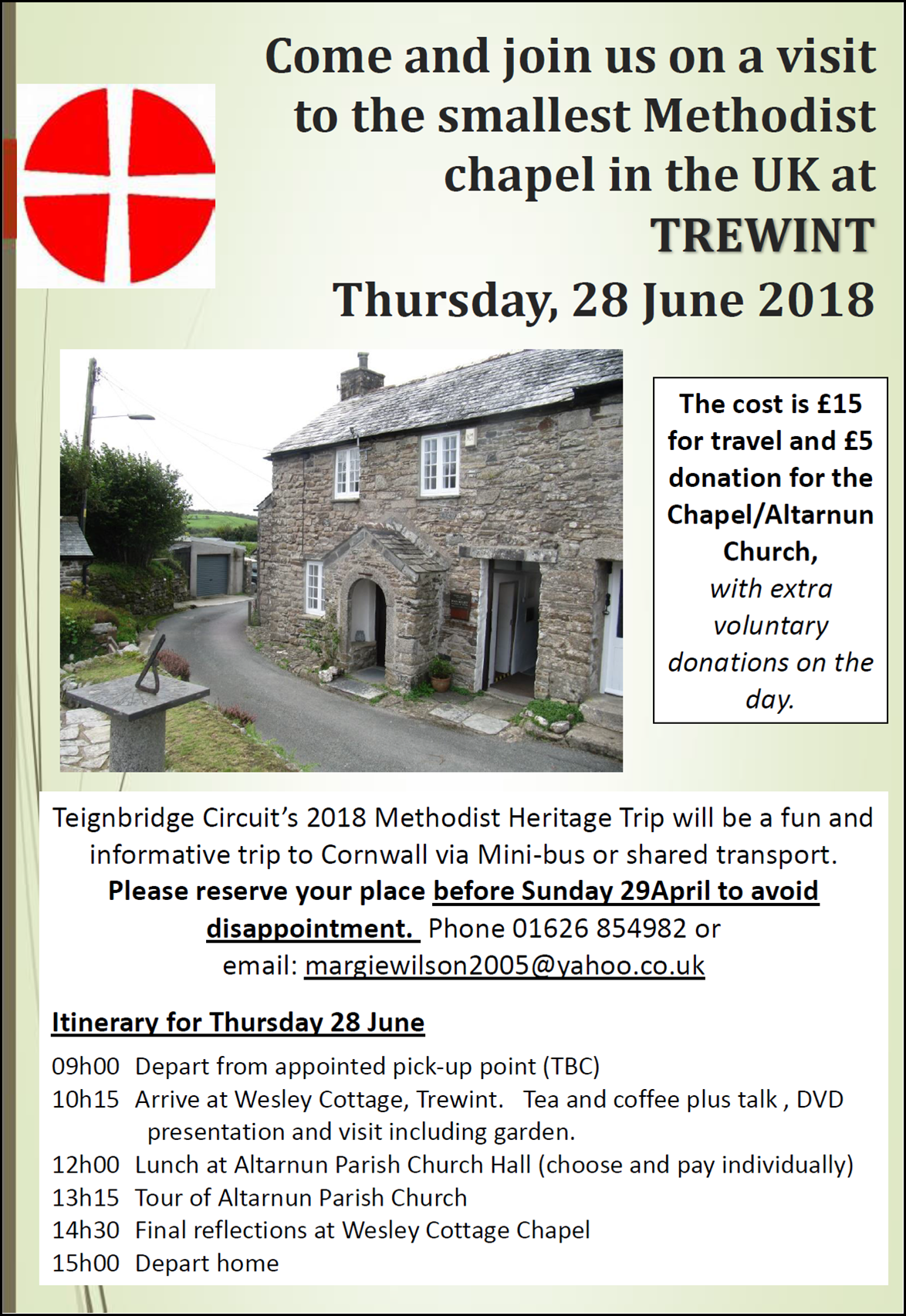 Circuit Trip to Trewint @ Wesley Cottage