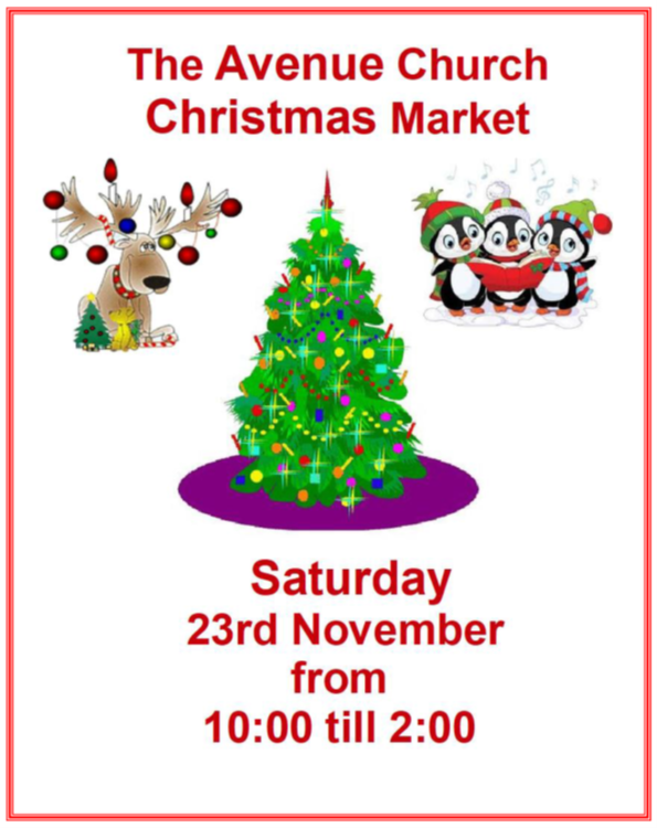 The Avenue Christmas Market @ The Avenue Church