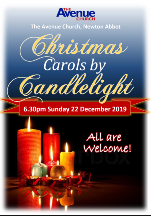 The Avenue Church - Carols by Candlelight @ The Avenue Church, Newton Abbot