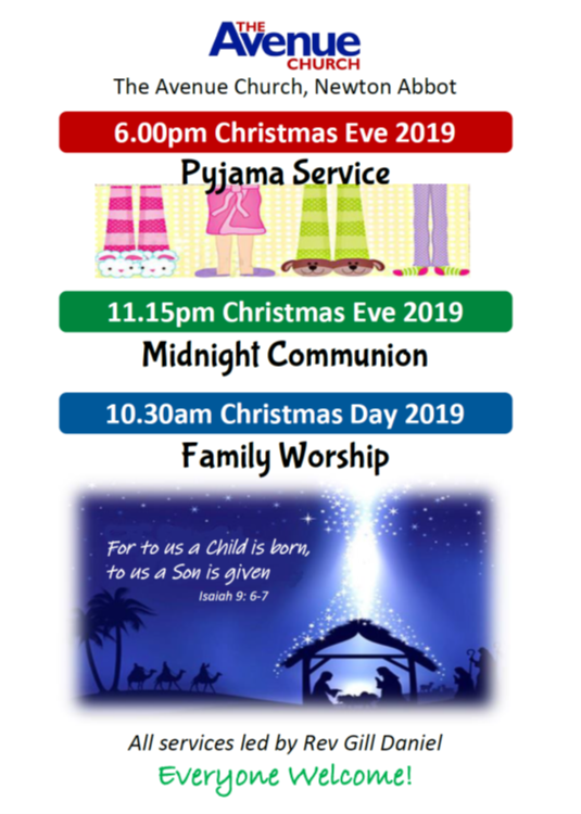 Christmas Eve at The Avenue Church @ The Avenue Church, Newton Abbot