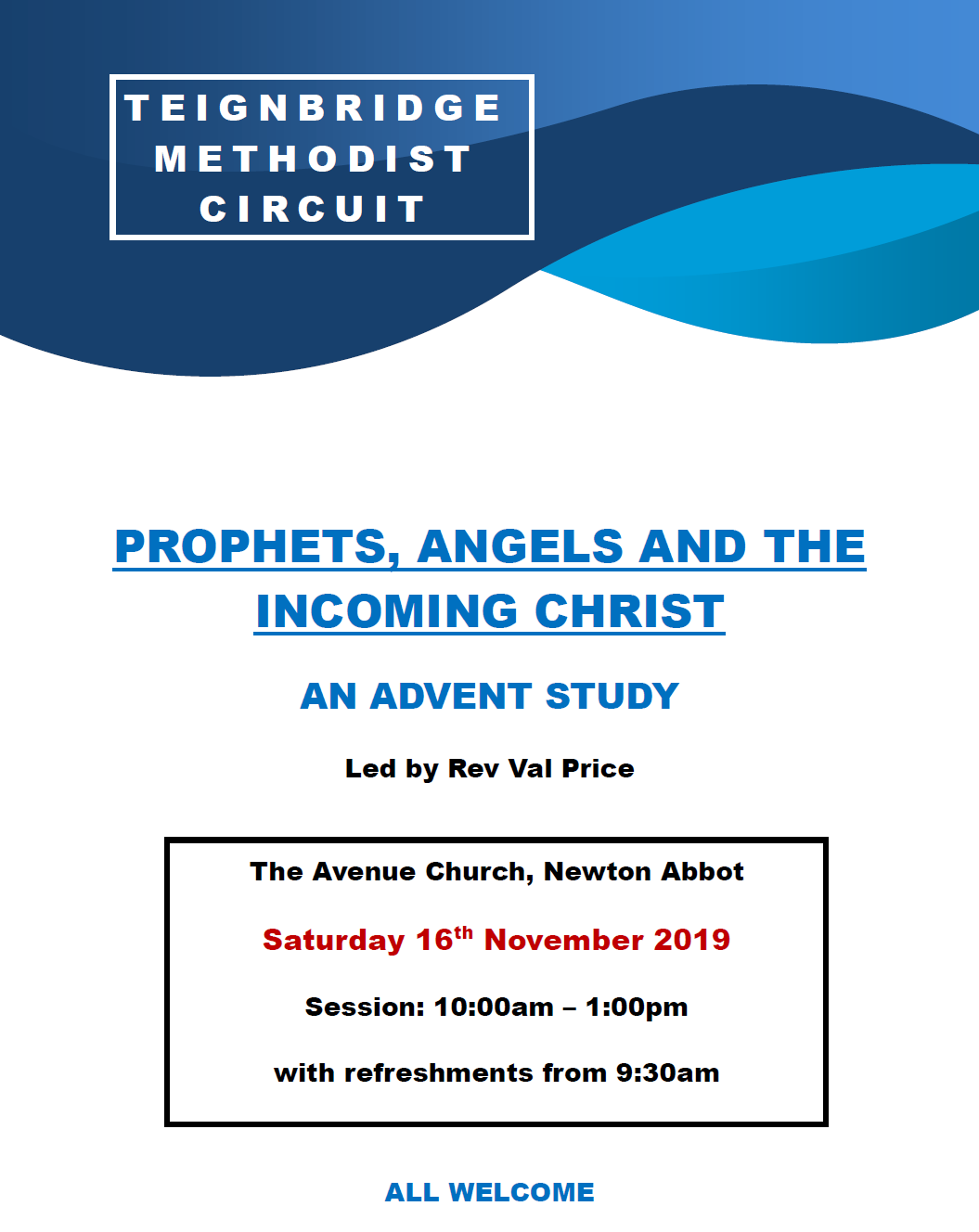 An Advent Study @ The Avenue Church, Newton Abbot
